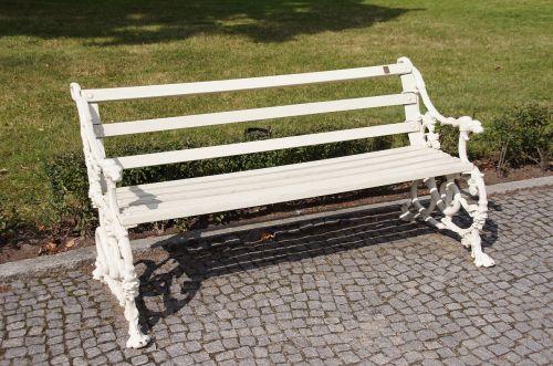 bench park garden