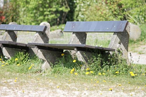 benches rest recovery