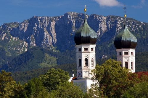 benediktbeuern monastery towers