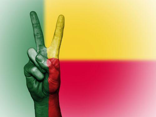 benin flag peace