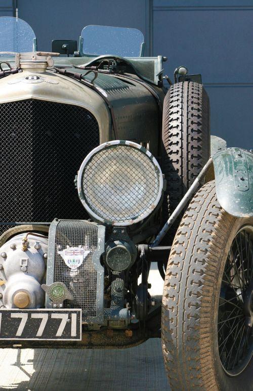 bentley vintage car racing car