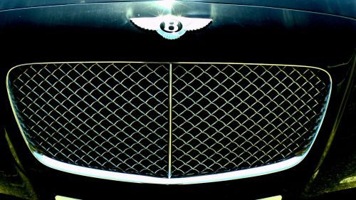 Bentley 2 Door Coupe Car Grille