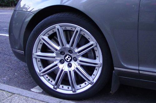 Bentley Car Front Wheel