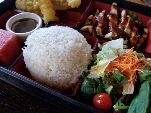 Bento Box Japanese Dinner