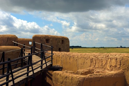bent's fort defenses  fort  trading post