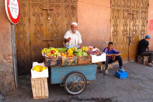 Berber Produce Peddler