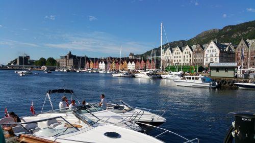 bergen harbour norway