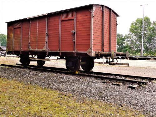 bergen-belsen wagon train