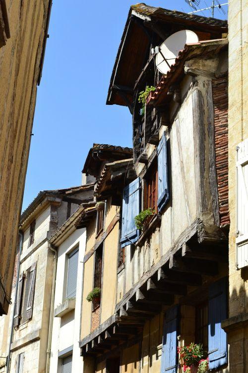bergerac narrow street old street