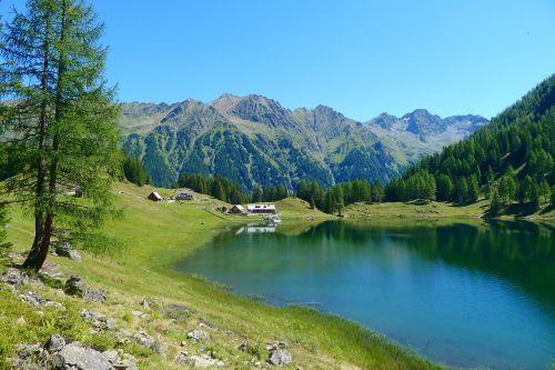 bergsee styria-austria nature