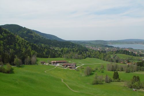 bergsee summer mountain