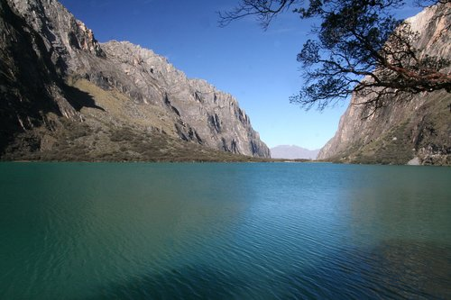 bergsee  peru  nature