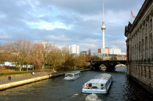 berlin television tower spree