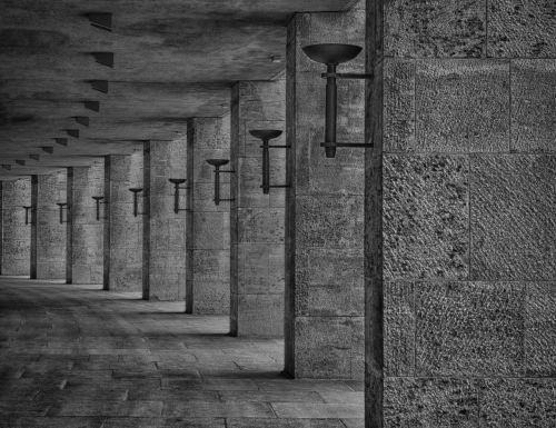 Berlynas,olimpija,1936,nacionalinis socializmas,akmenys,pastatas,arcade,architektūra,Vokietija,ramstis