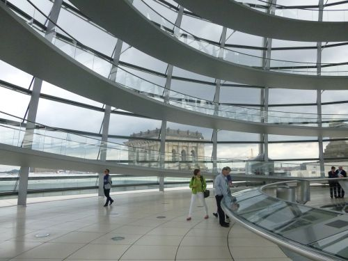 berlin glass dome reichstag