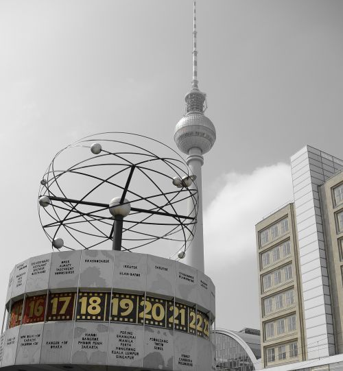 berlin world clock germany