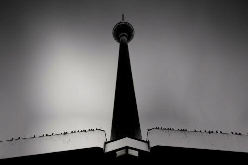 berlin tower tv tower