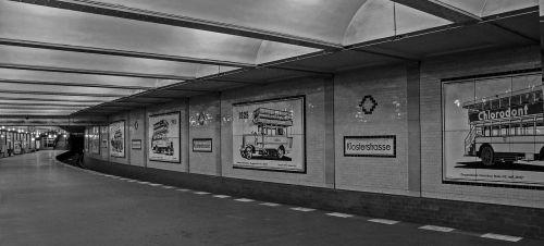 berlin monastery road metro station