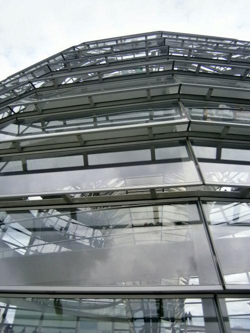 Berlynas,architektūra,kupolas,Vokietija,Reichstagas,vyriausybė,stiklo kupolas,pastatas,stiklas,orientyras