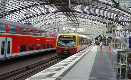berlin central station germany