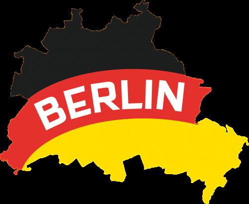 berlin outline map