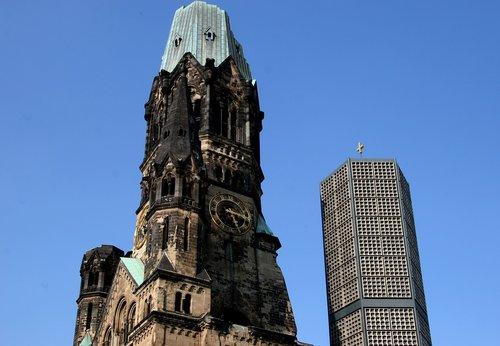 berlin  landmark  church