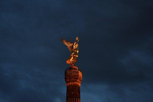 berlin  victory column  europe