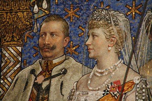 berlin  gedächtniskirche  imperial couple