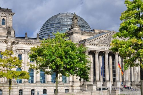 berlin the bundestag monument
