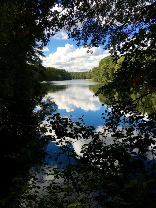 berlin krumme lanke lake