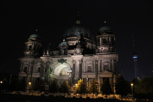berlin cathedral night berlin