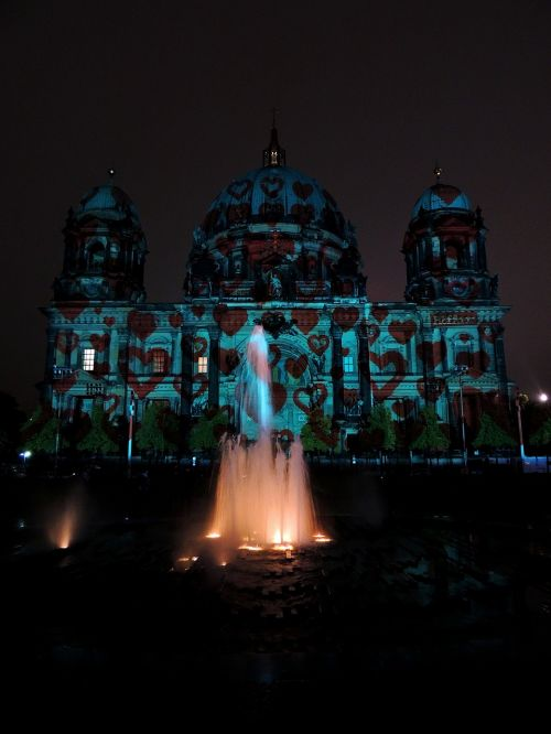 berlin cathedral berlin night