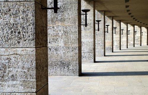 berlin olympic stadium  architecture  historically
