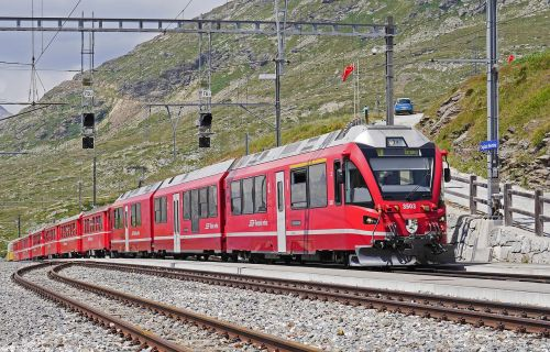bernina railway regional train pass
