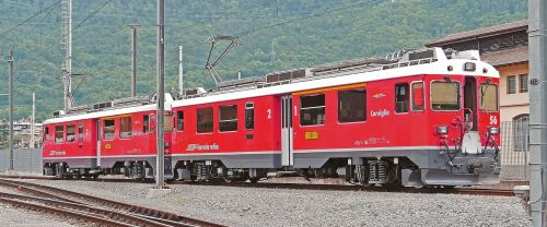 bernina railway rhaetian railways rhb