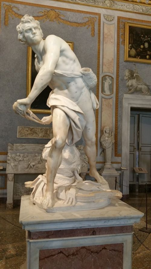 bernini,Galleria borghese,borghese,Roma,david,gian lorenzo bernini david