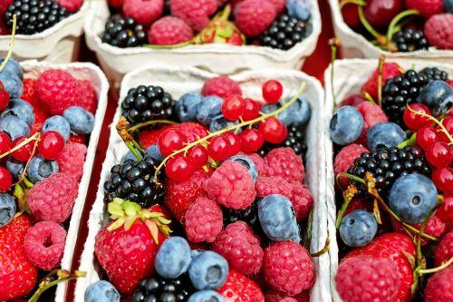 berries fruit fruits