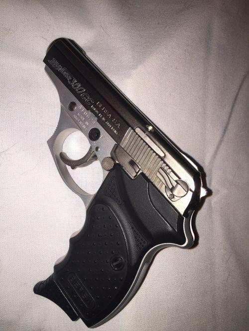 bersa hand gun pistol