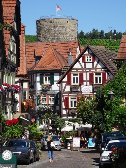 besigheim old town horn tower