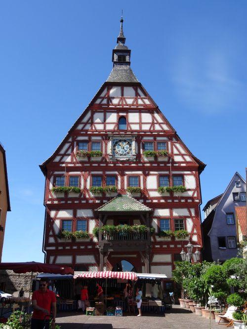 besigheim town hall truss