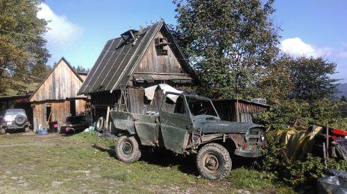 beskids poland jeep