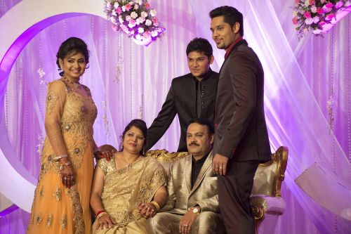 wedding india family
