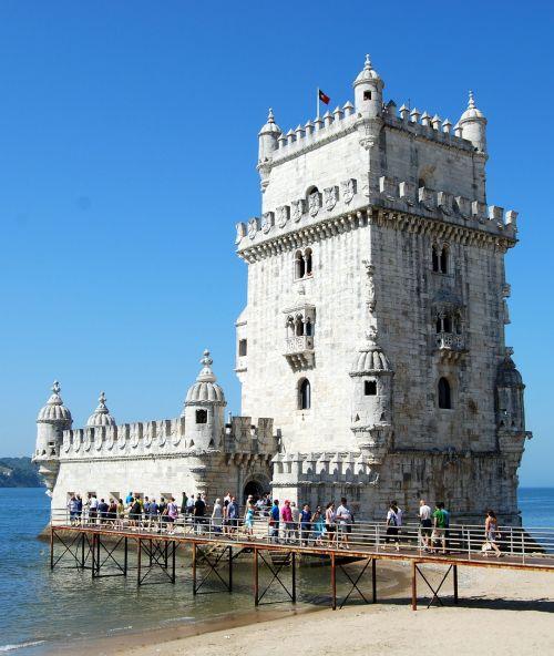 bethlehem's tower lisbon portugal