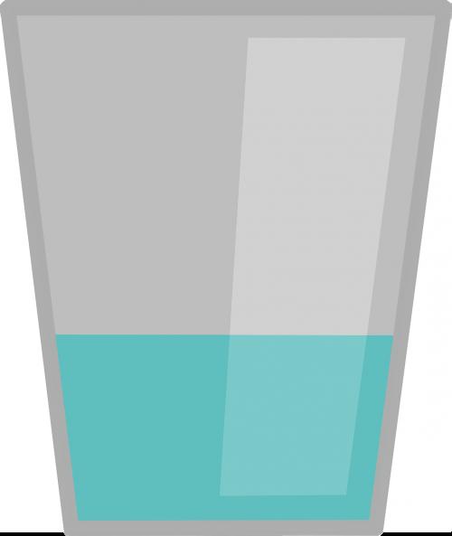 beverage fluid glass