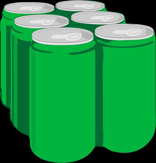 beverage soda cans