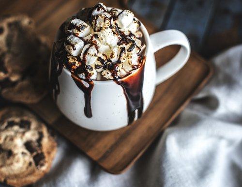 beverage  biscuit  cacao