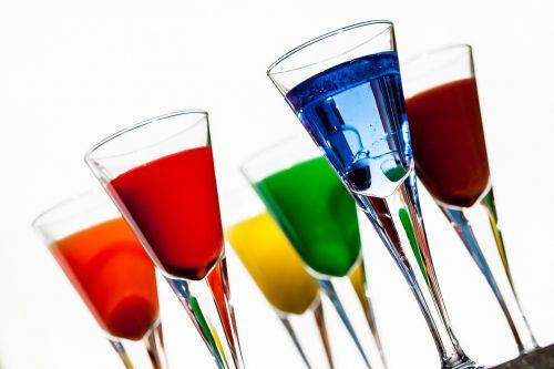 beverages glasses color