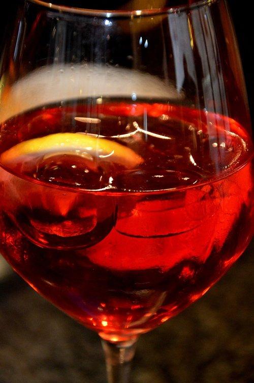 beverages  glass  aperol sprizz