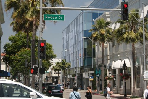 beverly hills rodeo drive california