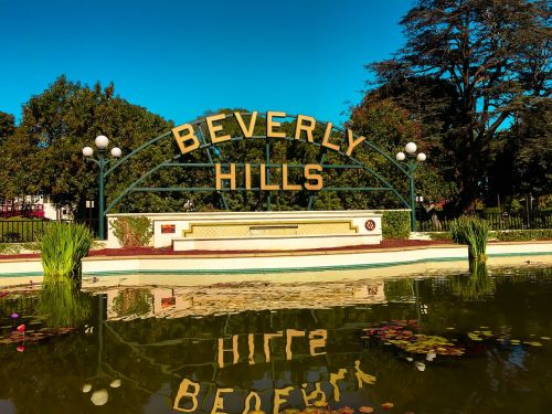 beverlyhills usa roadtrip